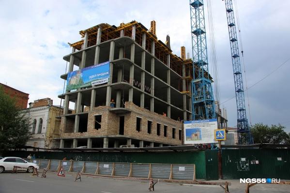 Высота дома будет переменной —от 6 до 14 этажей