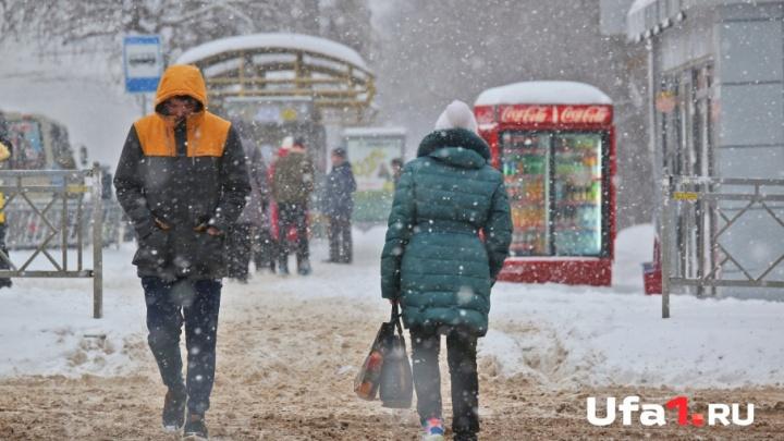 Погода на 28 февраля: в Башкирии будет снежно и ветрено