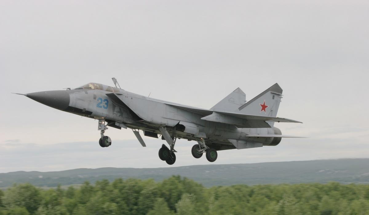 В Нижегородской области упал истребитель МиГ-31: показываем фото и видео с места крушения