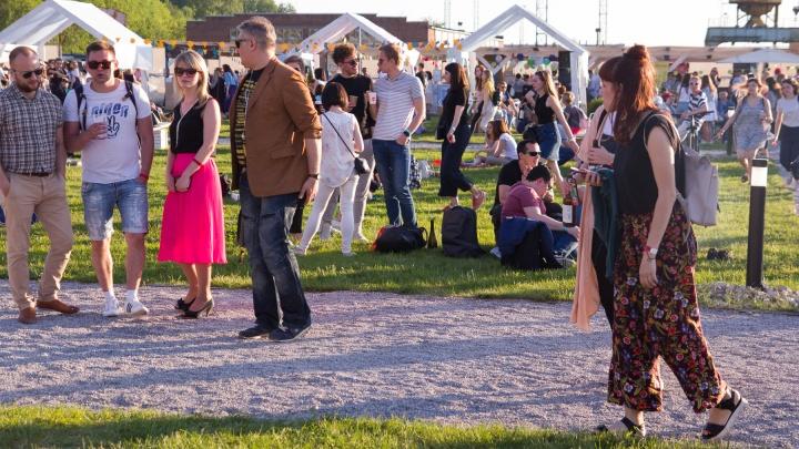 Танцевали сальсу, лепили из глины и слушали «Обе две»: как в Перми прошёл летний Red Fest