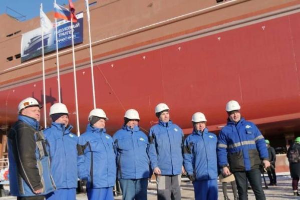 Всего Архангельский траловый флот должен построить четыре судна