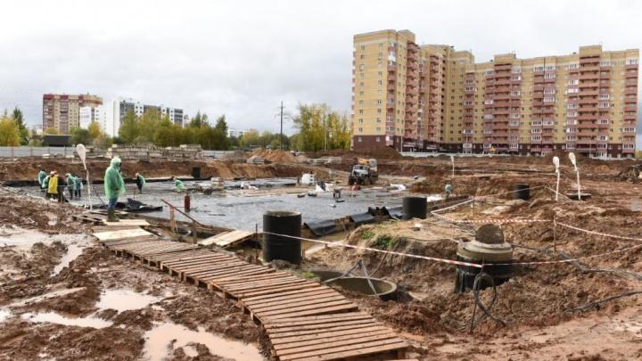 Стало известно, когда в Ярославле достроят новый детский сад с подземным этажом в Брагино