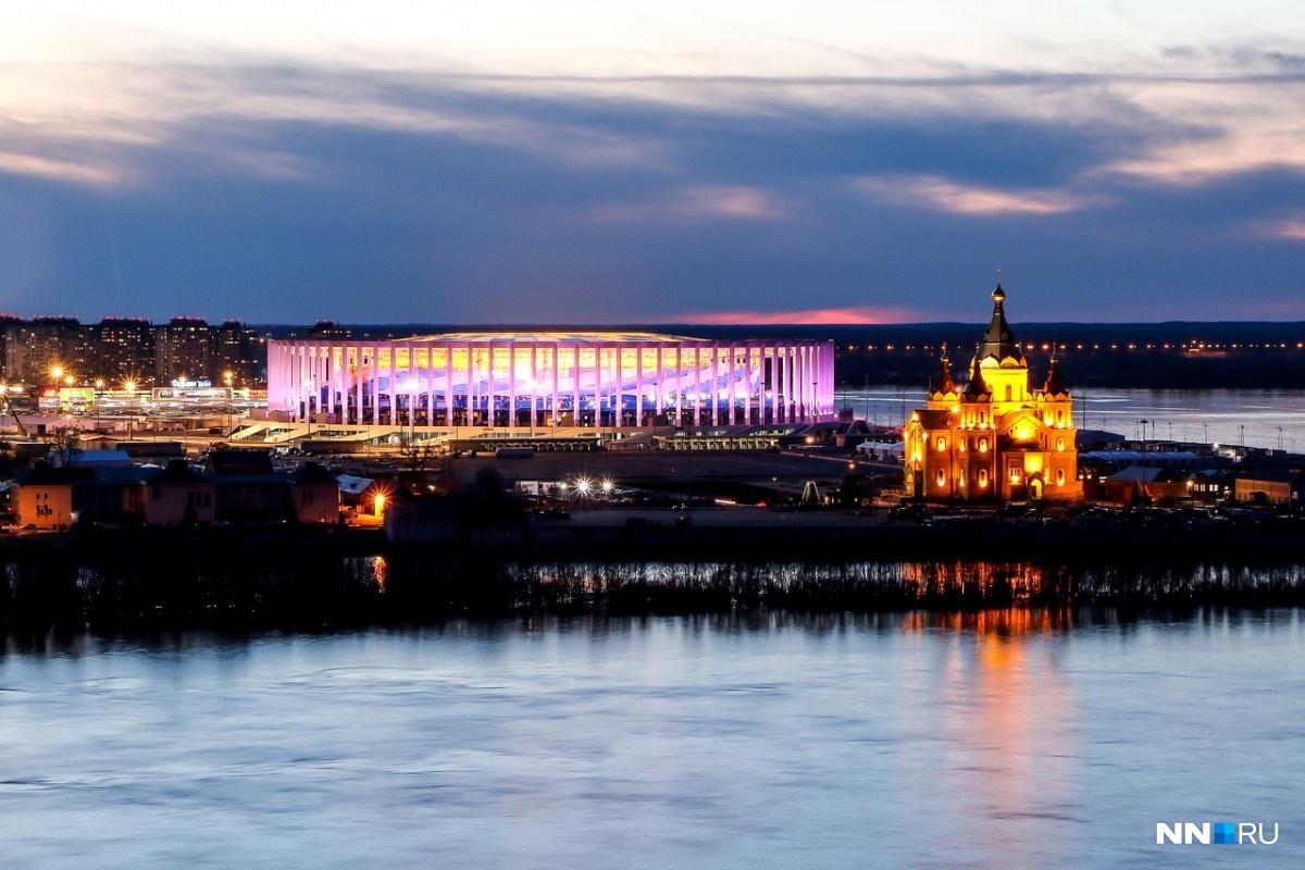Сборная России по футболу впервые сыграет в Нижнем Новгороде
