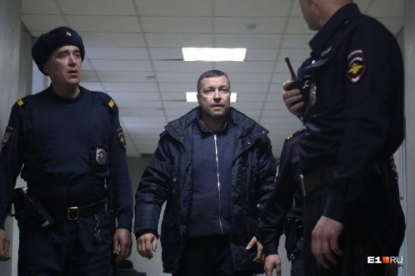 Михаил Бусылко после освобождения его из-под стражи 1 декабря 2019 года