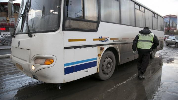 До окончания снегопадов свердловская ГИБДД запретила междугородние перевозки детских групп
