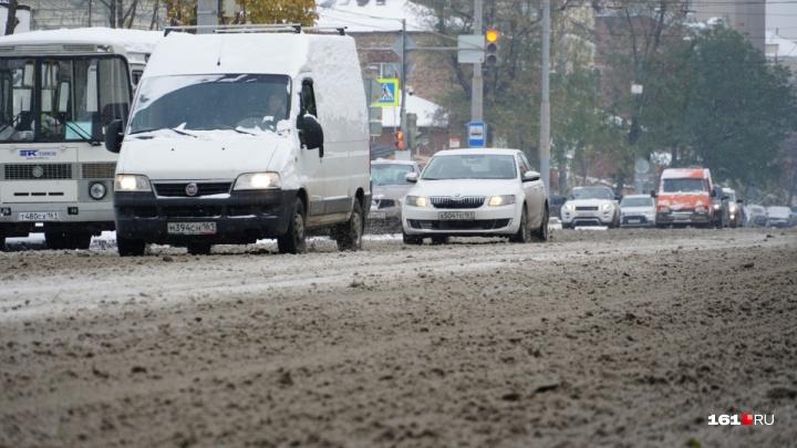 Трассу Ростов — Ставрополь закрыли для движения из-за наледи иветра: ужас на дороге сняли на видео