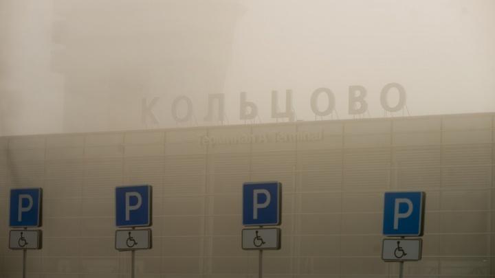 Из-за тумана в Кольцово самолёты направляют в Челябинск