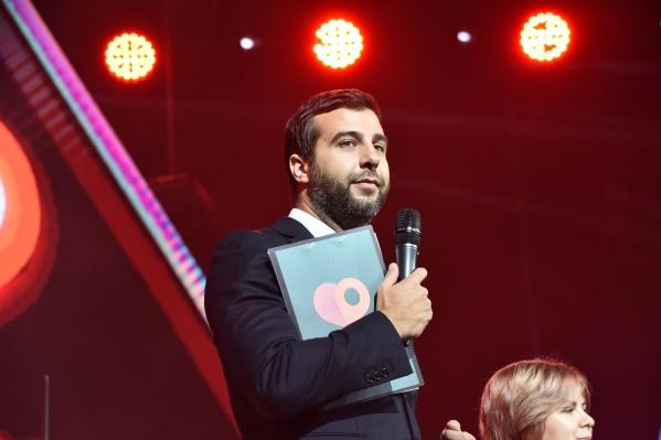 Иван Ургант на церемонии вручения премииE1.ru в Екатеринбурге