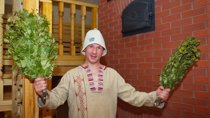 «Баня не терпит суеты»: главный парильщик «Андреевских бань» поделился секретами парения