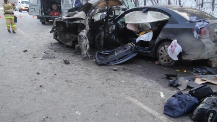 В челябинской больнице умер подросток, раненный в аварии с четырьмя жертвами на трассе М-5