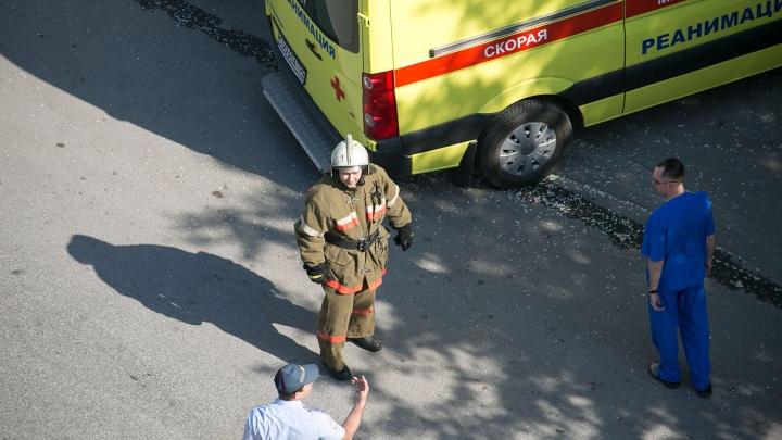 Пожар на Западном жилмассиве: в горящей квартире погибли три человека