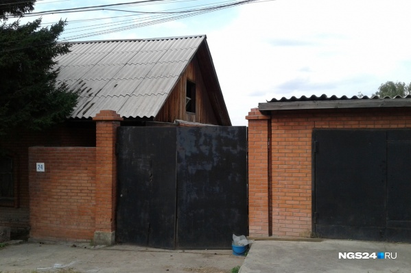 Частный дом на улице Молодогвардейцев
