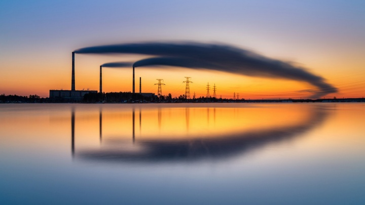 Фото Рефтинского водохранилища, снятое екатеринбуржцем, победило в престижном международном конкурсе
