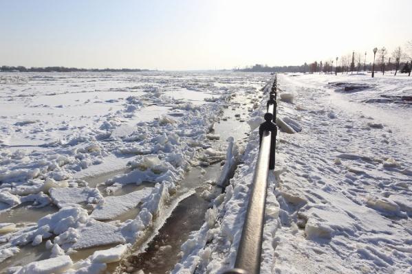 Ярославской набережной нанесён ущерб из-за затопления