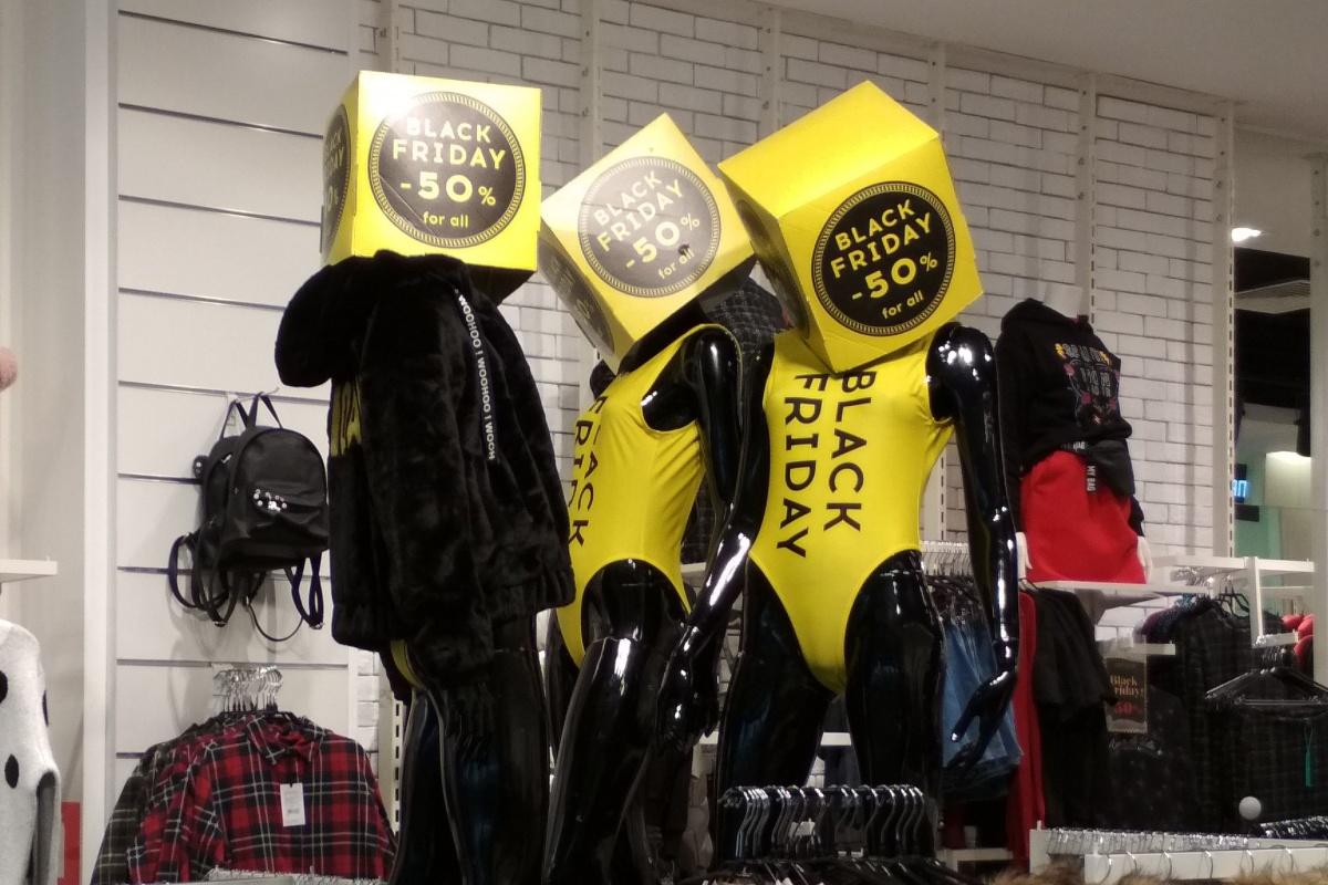 В новосибирских магазинах уже началась «чёрная пятница»