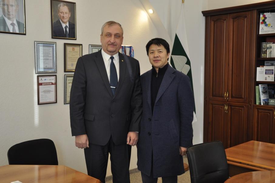 Встреча сЧжан Баою прошла в феврале 2018 года