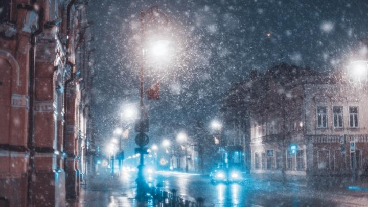 Это Сибирь, детка! Любуемся потрясающими кадрами апрельского снегопада, сделанными тюменцами