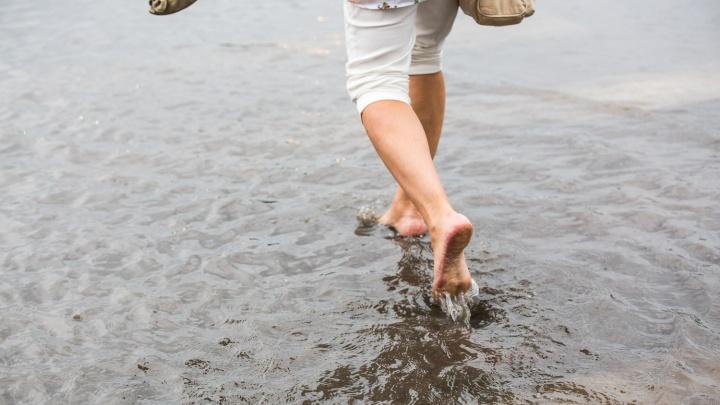 Плющихинский опять утонул — ливень залил дороги и тротуары Новосибирска