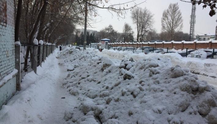 Снег в Самаре убрали плохо: директор МП «Благоустройство» получил нагоняй от чиновников