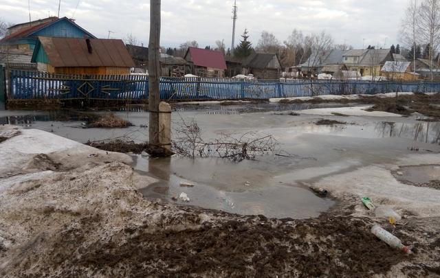 Из-за строительства кафе в Башкирии затопило поселок