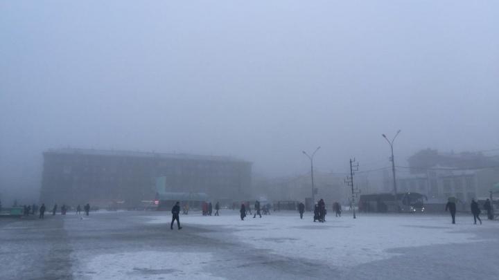 Видимость — 500 метров: в Новосибирске задержится туманная погода с морозами по ночам