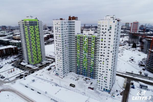 Дом переменной высотности со встроенным двухэтажным паркингом