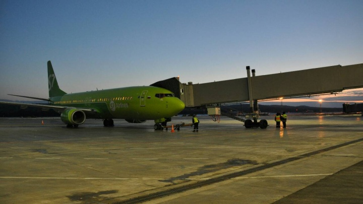 Телетрапы начали работать в аэропорту Красноярск