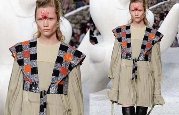Модель из Красноярска представила новую коллекцию Louis Vuitton на подиуме во Франции