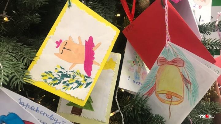 Продукты, шаль или сладости: какие желания оставили тюменцы на благотворительных ёлках