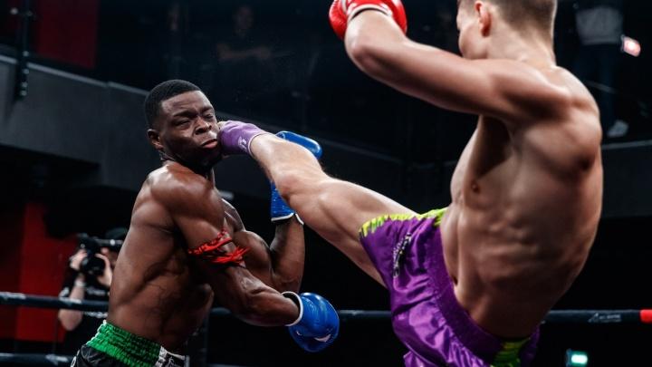 «Сейчас тяжело дышать»: боец Александр Скворцов вырвал победу у голландца на турнире в Екатеринбурге