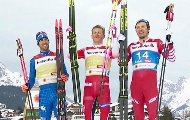 Тюменский лыжник Глеб Ретивых взял медаль на чемпионате мира