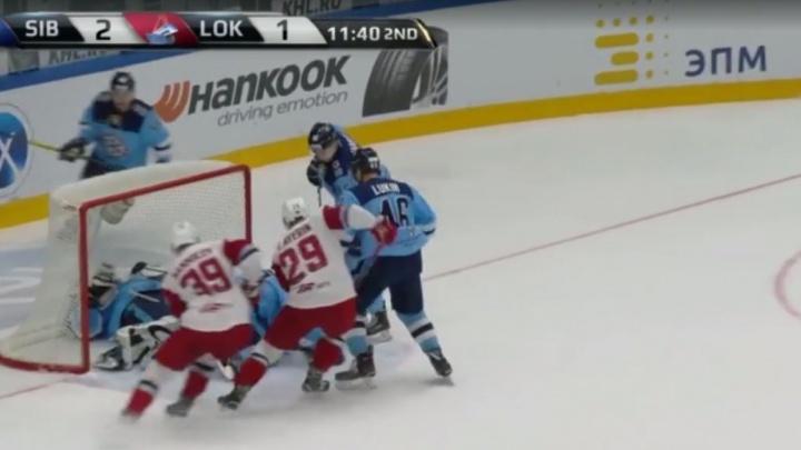 Видео: сейв вратаря «Сибири» вошёл в список лучших за неделю