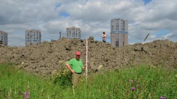 В Екатеринбурге на месте стройки Дворца дзюдо искали стоянки древнего человека