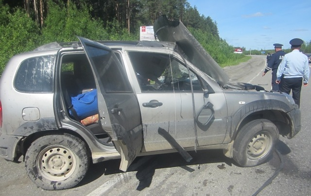 Новосибирец погиб в столкновении с грузовиком на трассе в Свердловской области