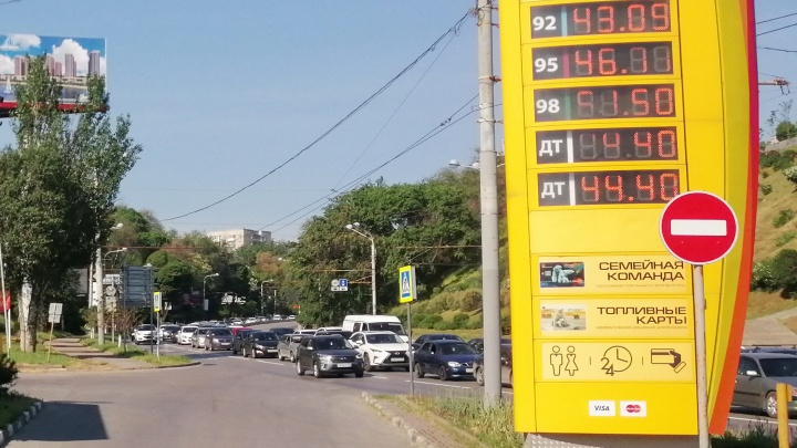 Ростов вошел в четверку городов с самыми высокими ценами на бензин