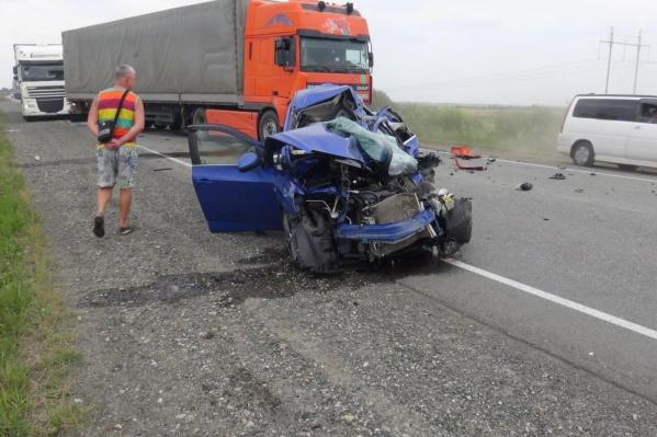 Авария произошла 18 августа