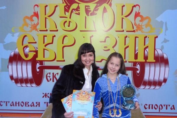 На соревнованиях, которые прошли 22 декабря, Каролина выполнила два нормативакандидата в мастера спорта