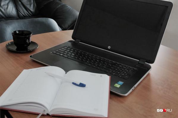 Для работы самозанятому хватит обычного ноутбука, кассовый аппарат не требуется