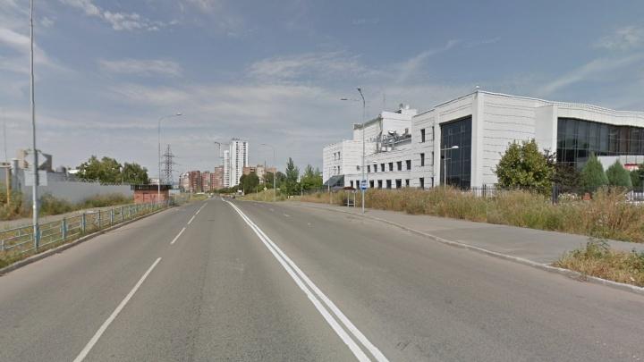 Освещение на улице Луначарского включат только в октябре