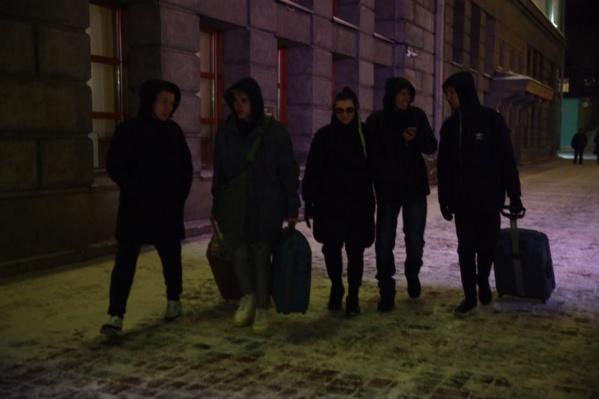Группа решила дать концерт в лофте «Трава»