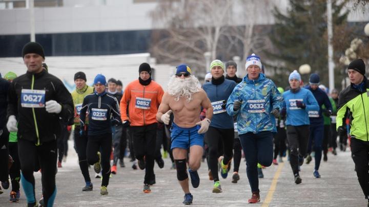 Закроют сезон: тысячи спортсменов побегут по набережной Городского пруда в первый зимний день