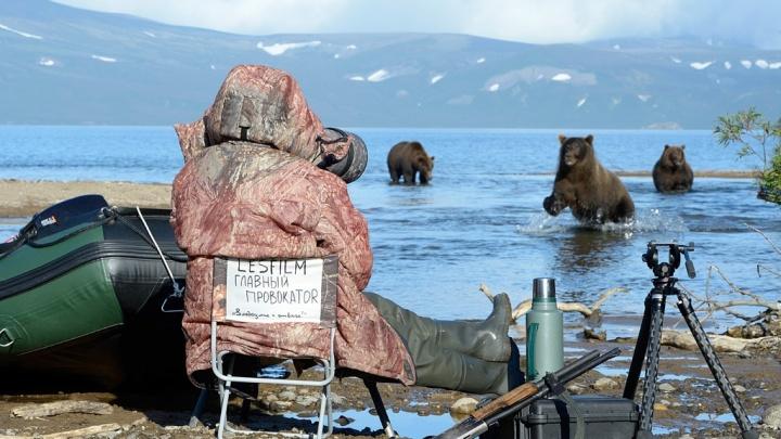 Семь месяцев в дикой природе. Как пермский режиссёр снимала фильм о медведях Камчатки