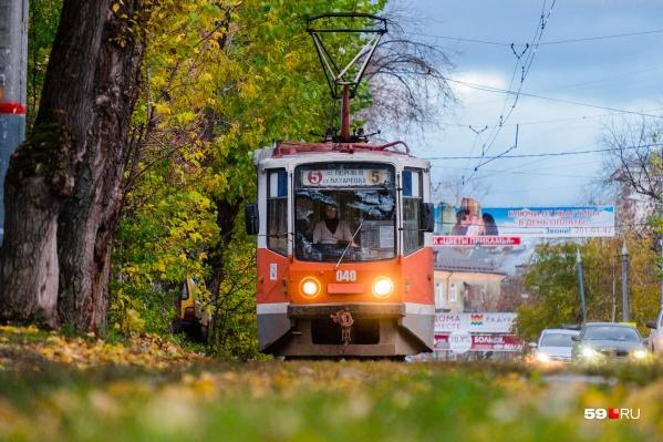 Пермскому трамваю исполняется 90 лет