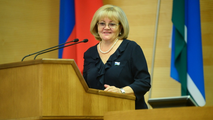 Путин наградил председателя свердловского Заксобрания Людмилу Бабушкину орденом Дружбы