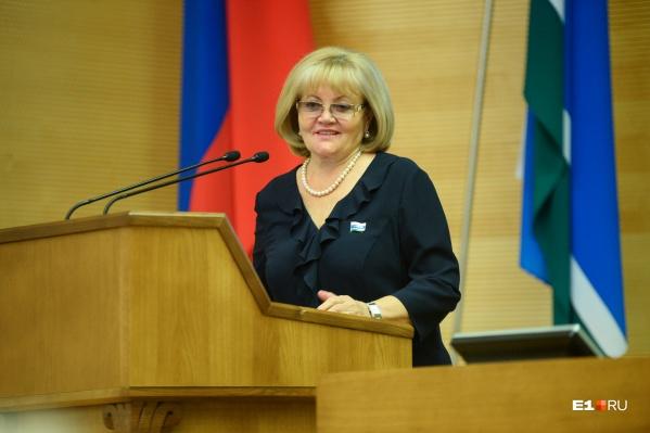 Людмила Бабушкина работает во властных структурах Свердловской области уже 19 лет