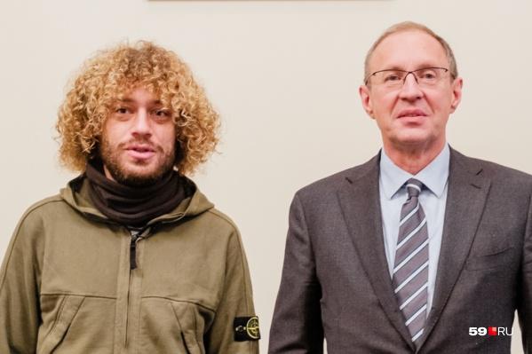 Илья Варламов на встрече с Дмитрием Самойловым в начале ноября