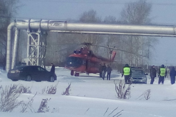 Вертолёт санавиации доставил пострадавших в краевую больницу
