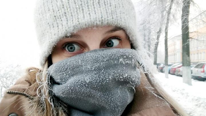 Арктическое вторжение: ярославцев предупредили о крепких морозах