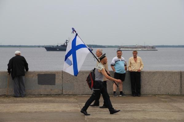 Реконструкторы в день ВМФ воссоздадут встречу Петра I со стрельцами и воеводой