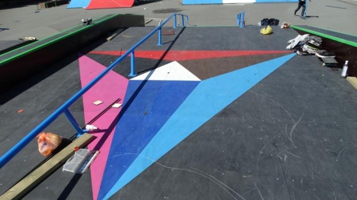 «Чтобы всем было удобно»: в Челябинске нашли новую старую площадку для скейт-парка